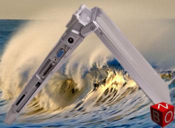 Laptop Panasonic CF-T8 Màn hình cảm ứng , online với 3G , chống vô nước, GPS